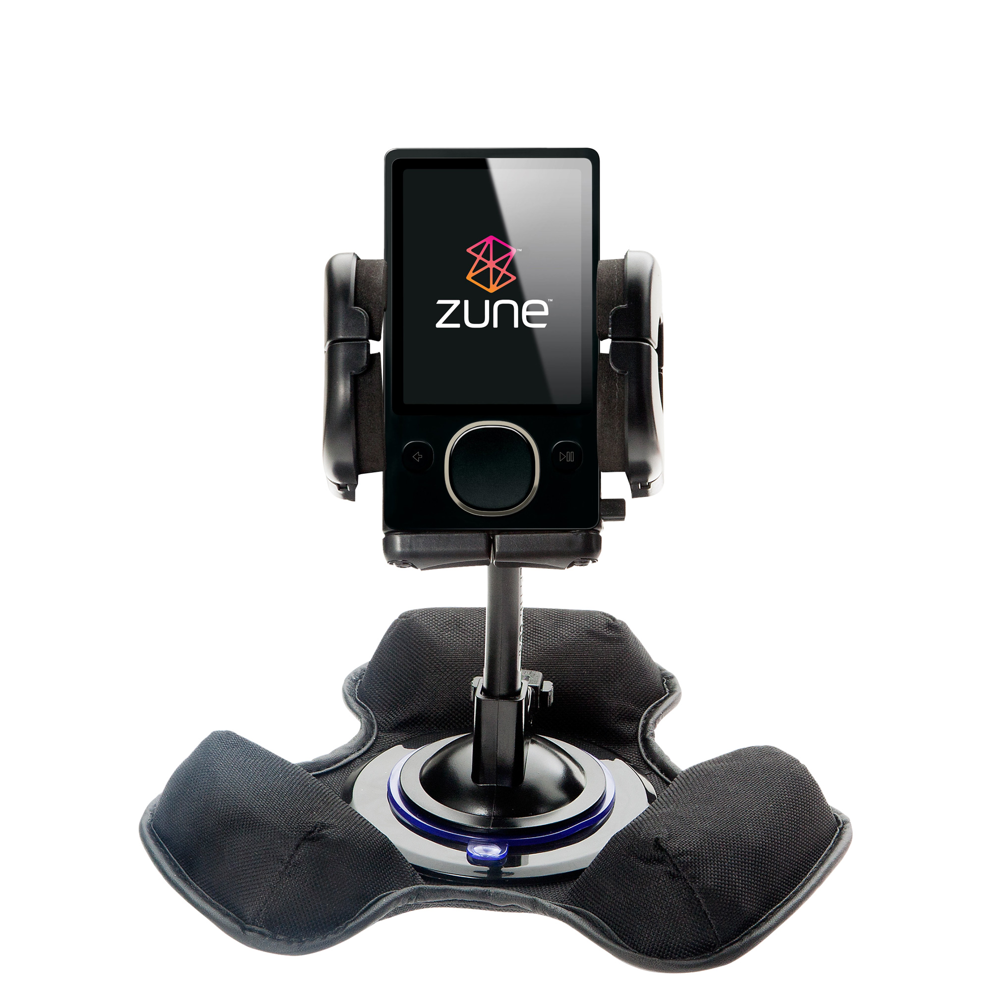 Dash and Windshield Holder compatible with the Microsoft Zune (2nd and Latest Generation)