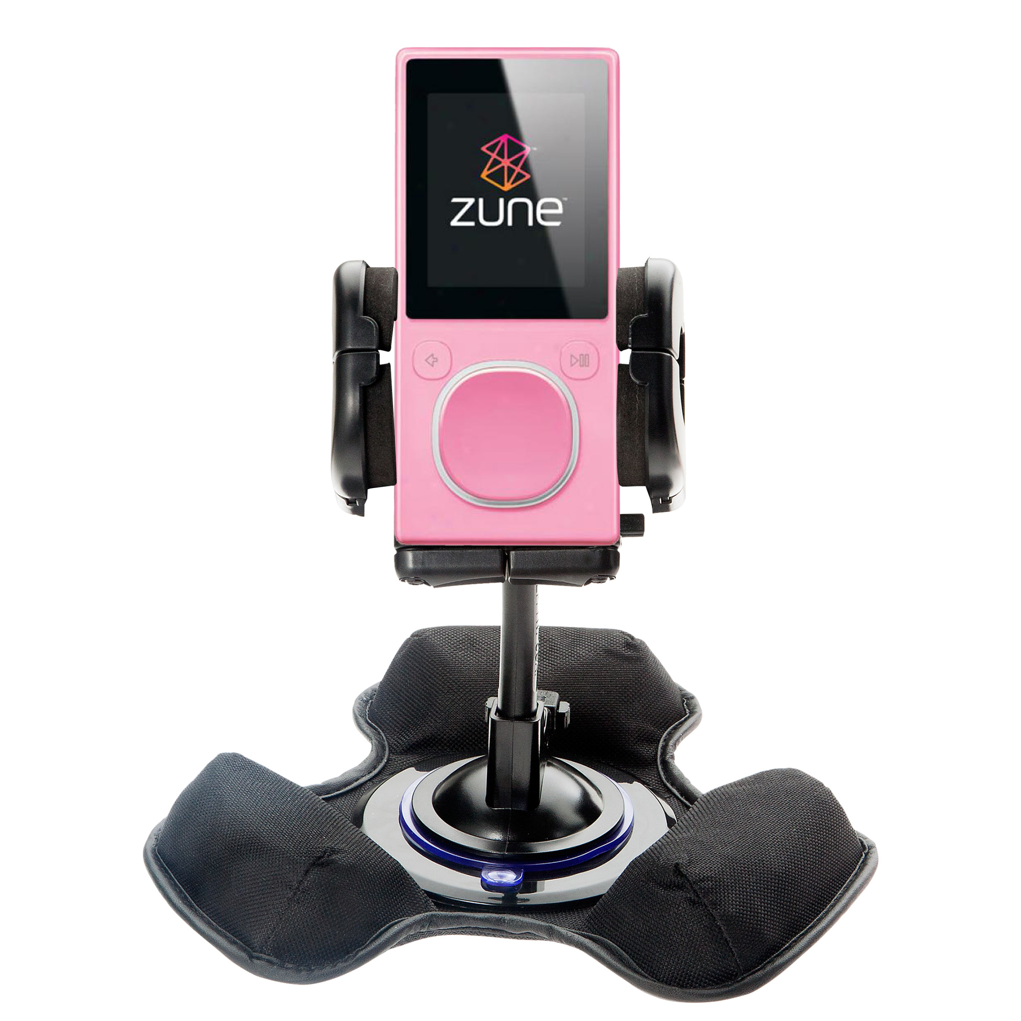 Dash and Windshield Holder compatible with the Microsoft Zune 4GB / 8GB