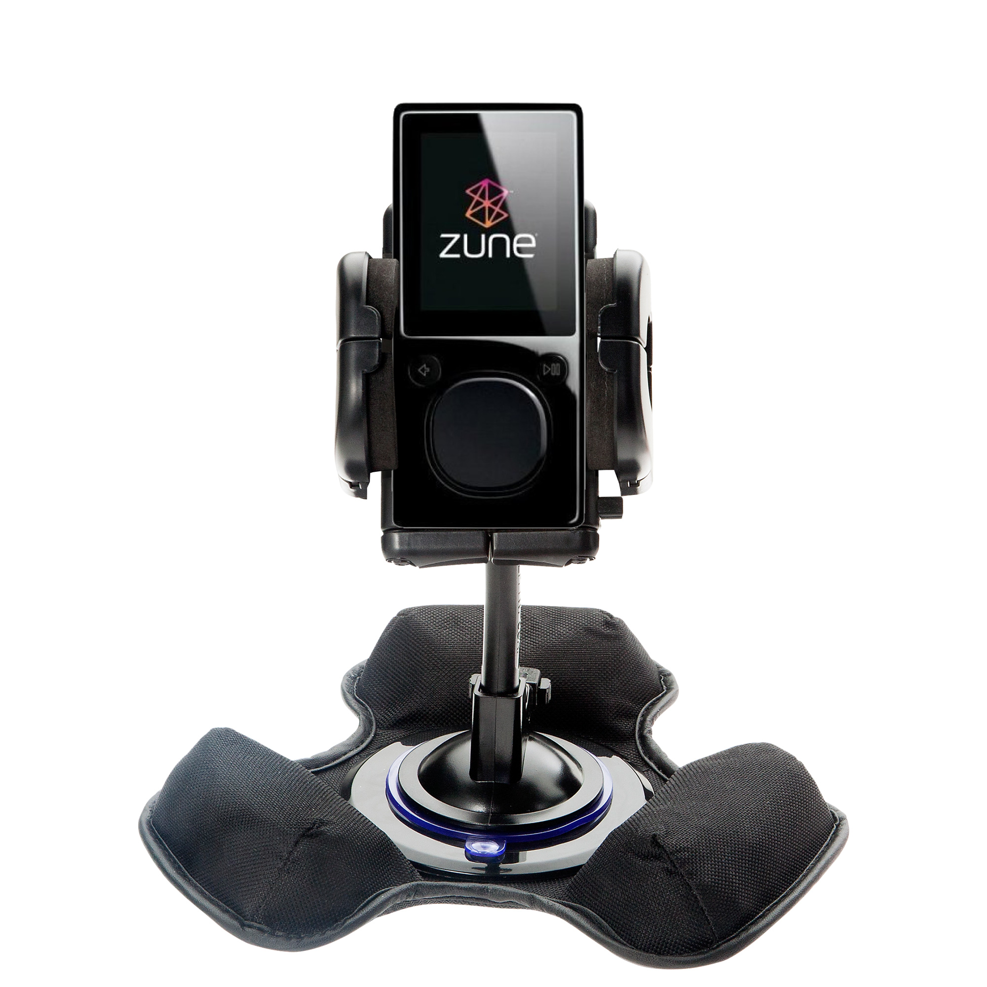 Dash and Windshield Holder compatible with the Microsoft Zune 8 / 12