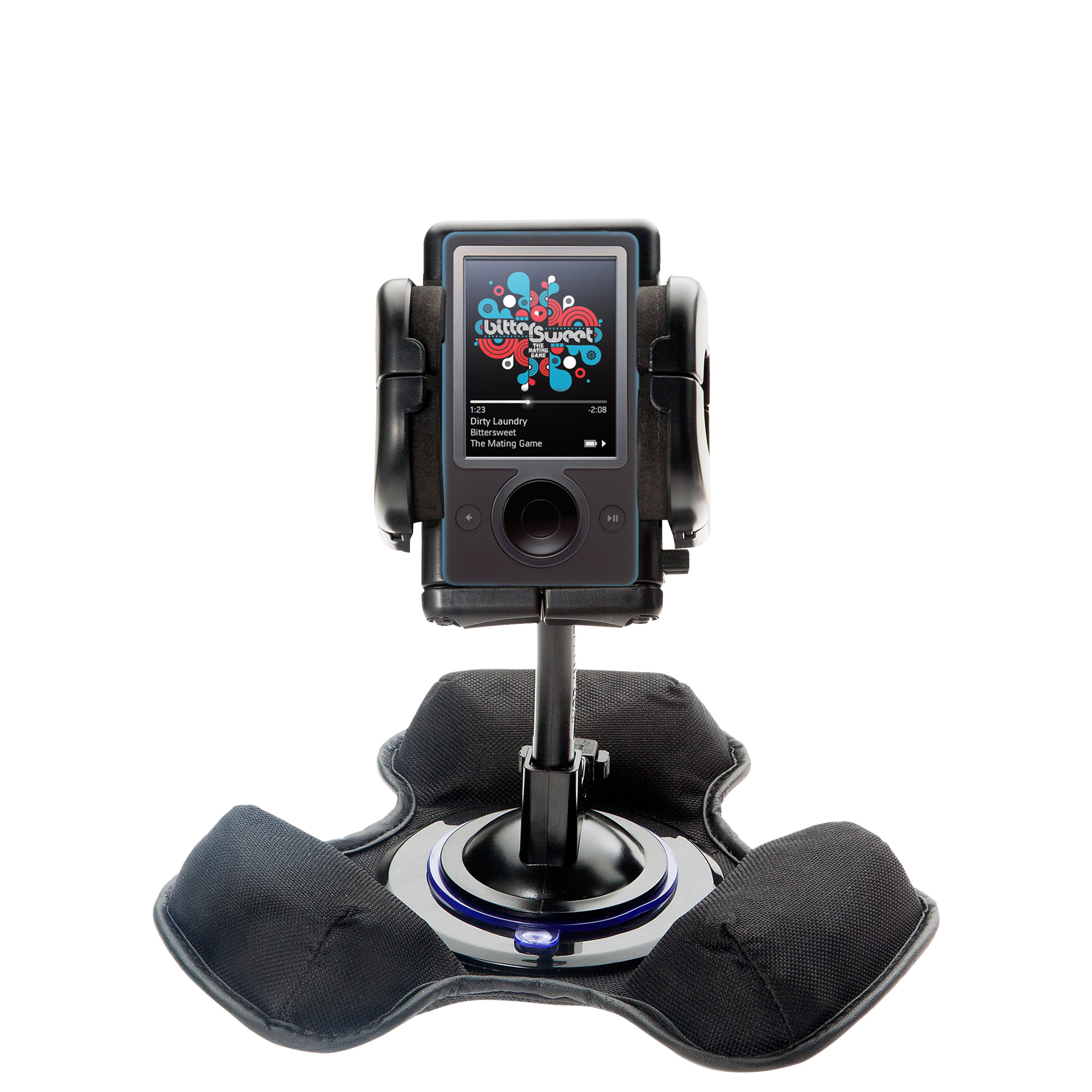 Dash and Windshield Holder compatible with the Microsoft Zune Gen2
