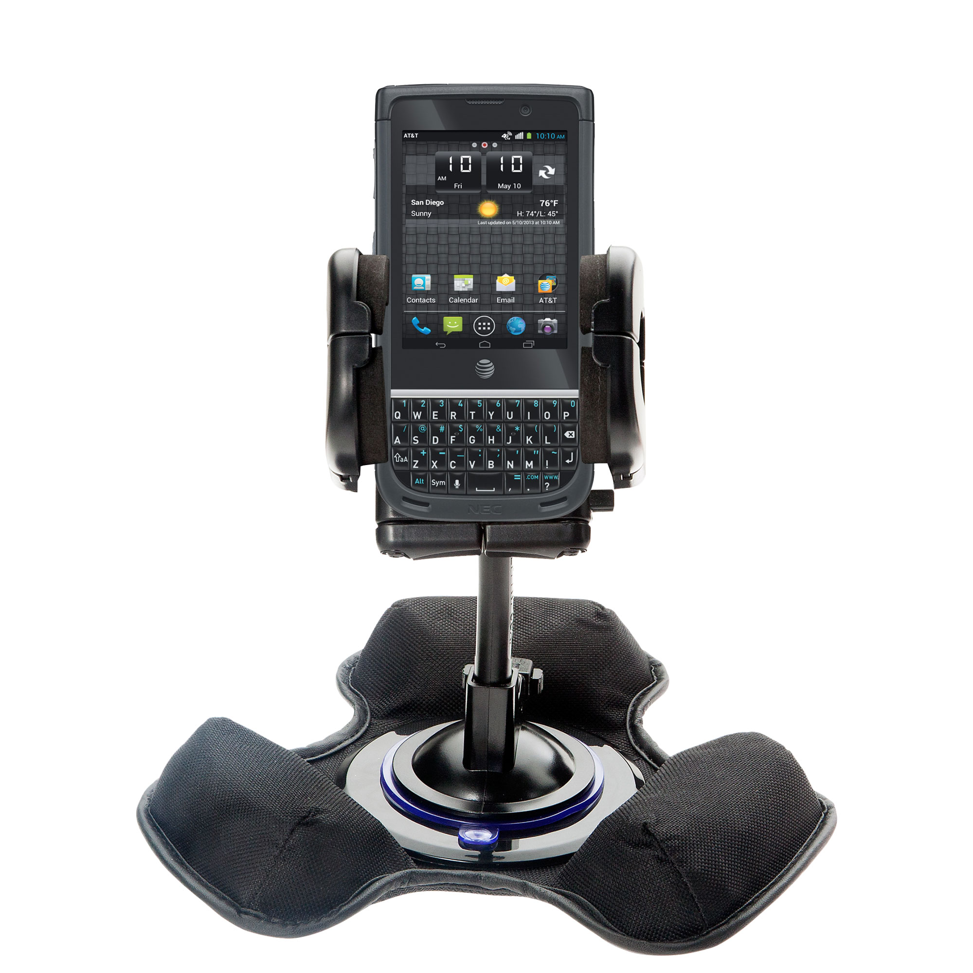 Dash and Windshield Holder compatible with the NEC Terrain