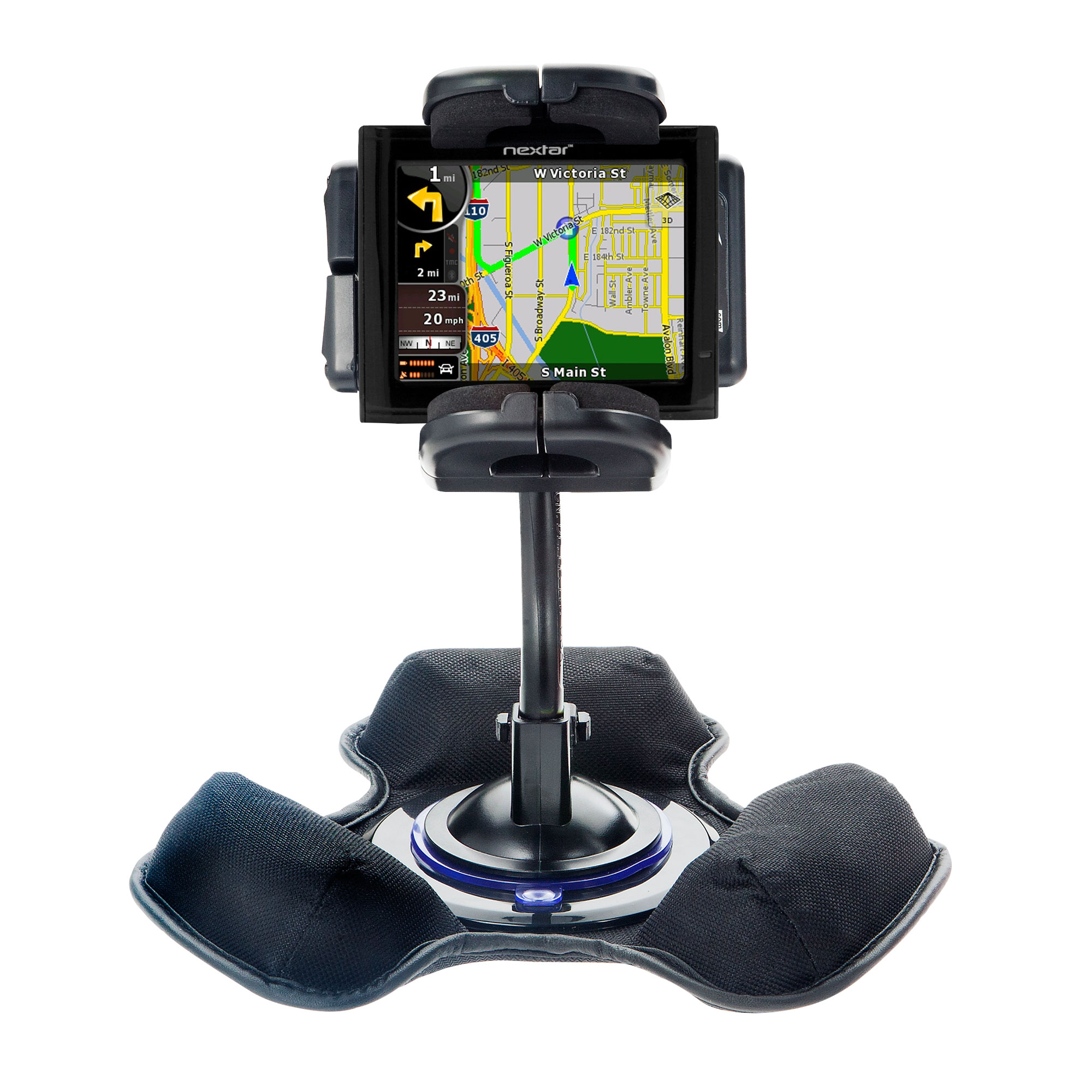 Dash and Windshield Holder compatible with the Nextar ME