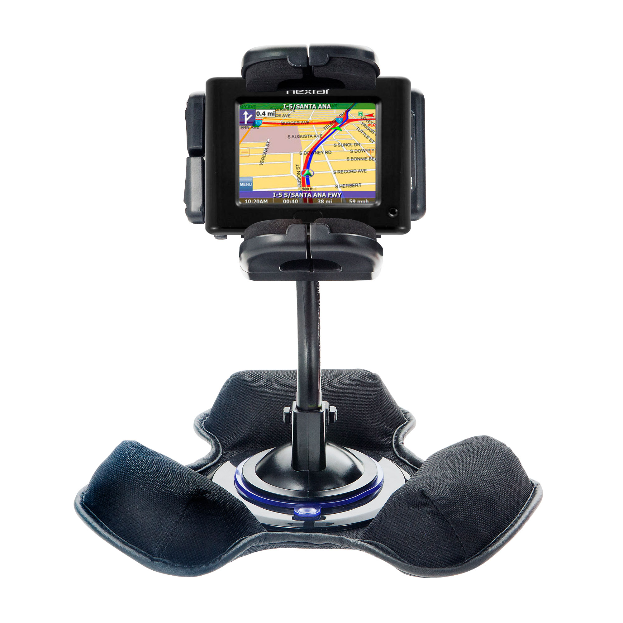 Dash and Windshield Holder compatible with the Nextar P3