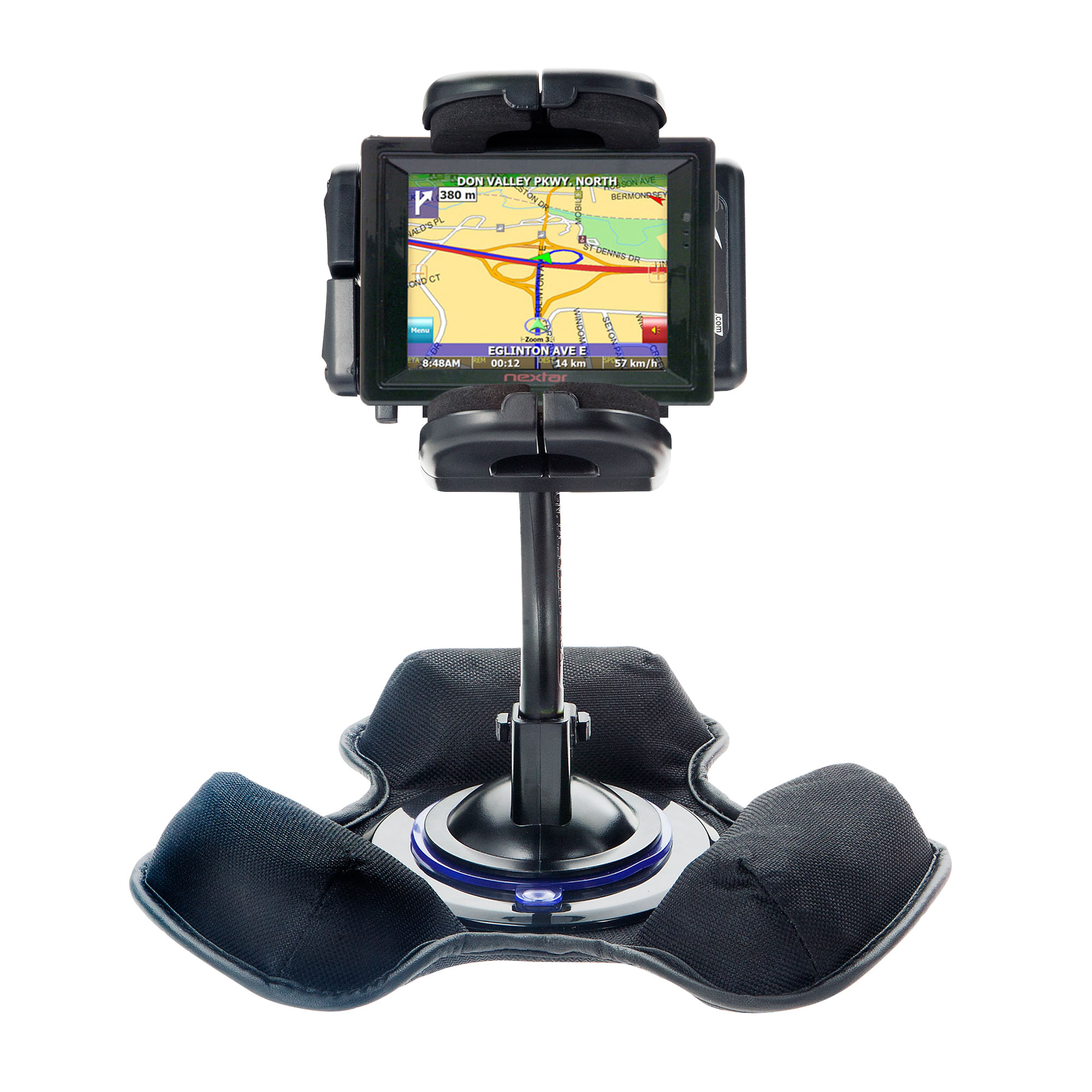 Dash and Windshield Holder compatible with the Nextar SNAP3