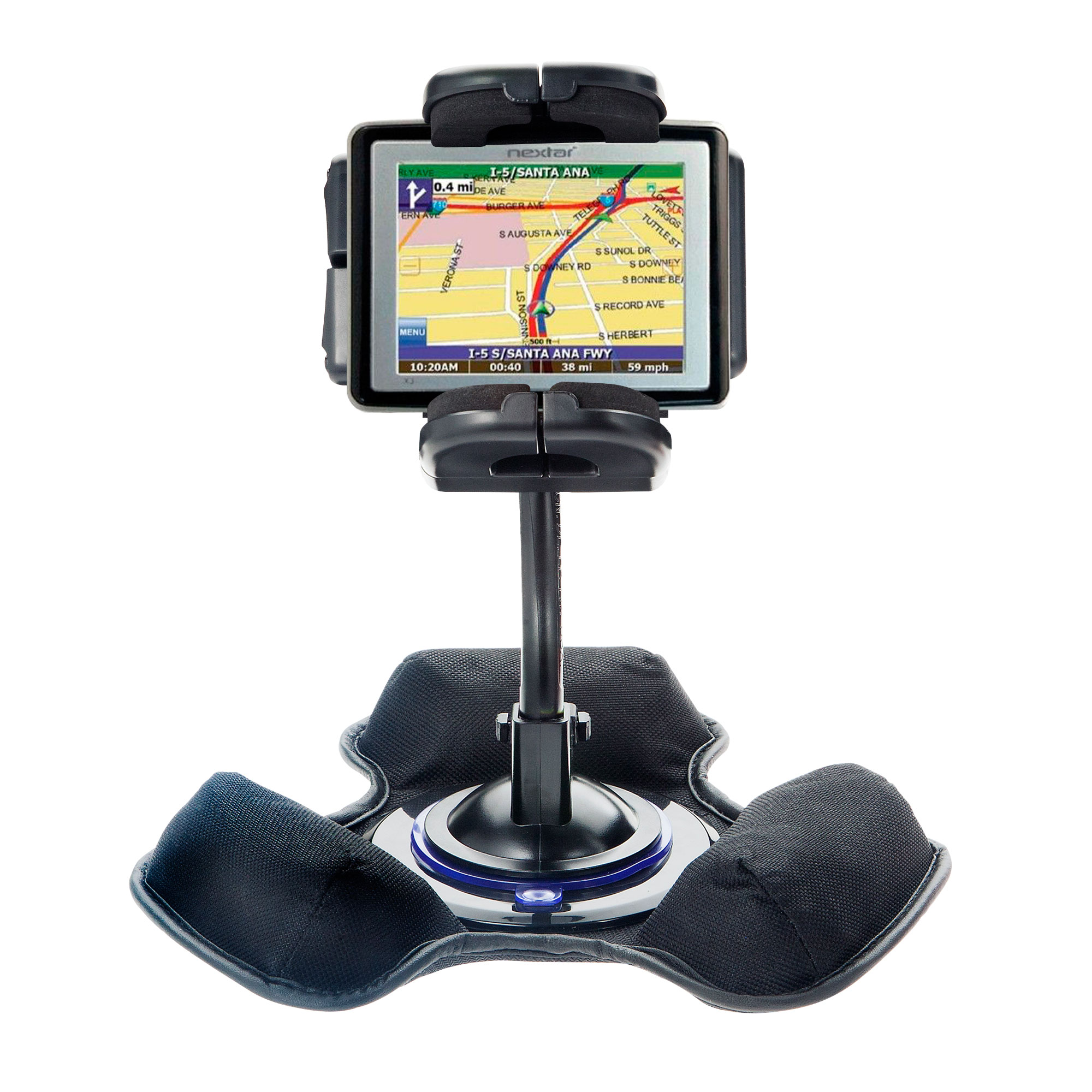 Dash and Windshield Holder compatible with the Nextar X3-T