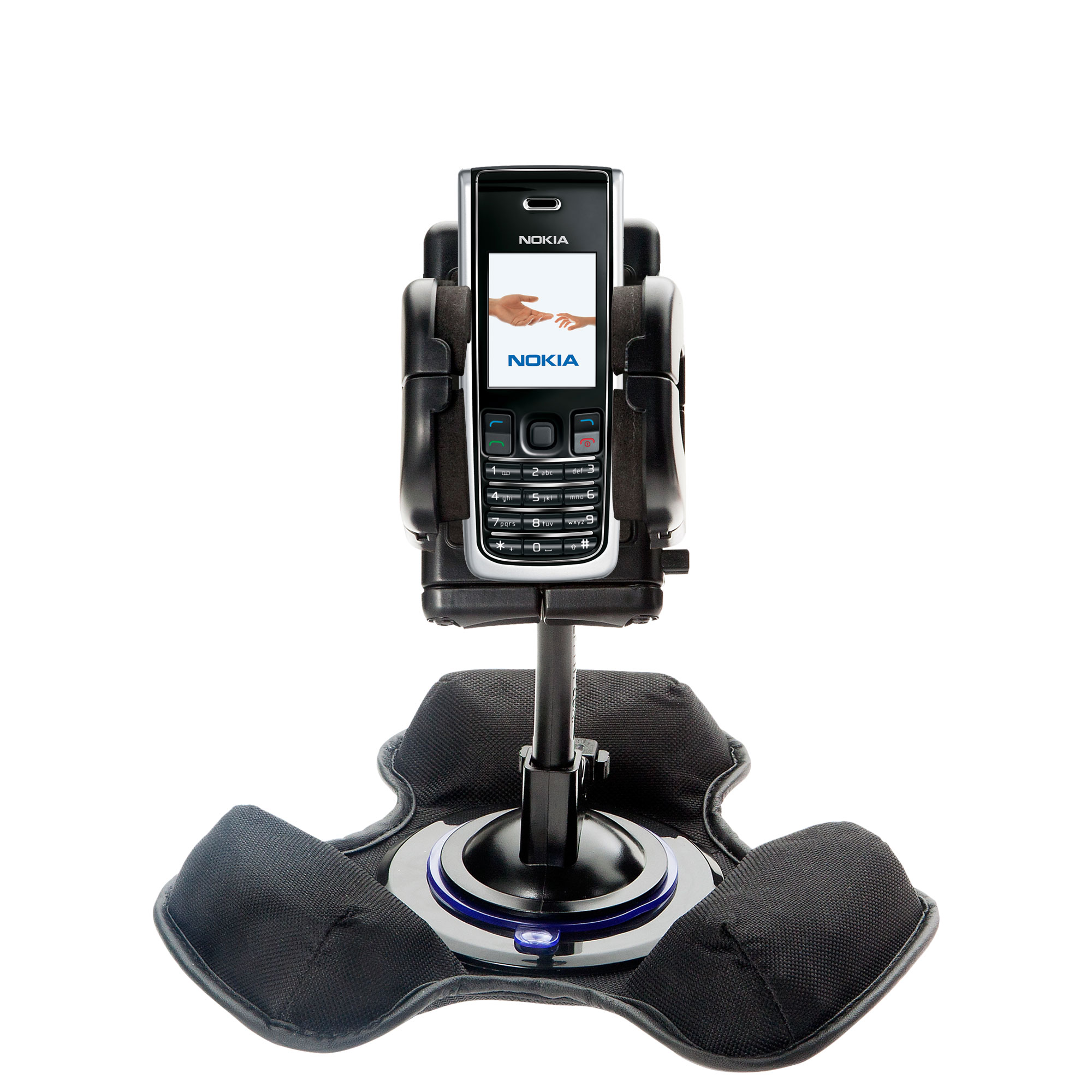 Dash and Windshield Holder compatible with the Nokia 2865i 3155i