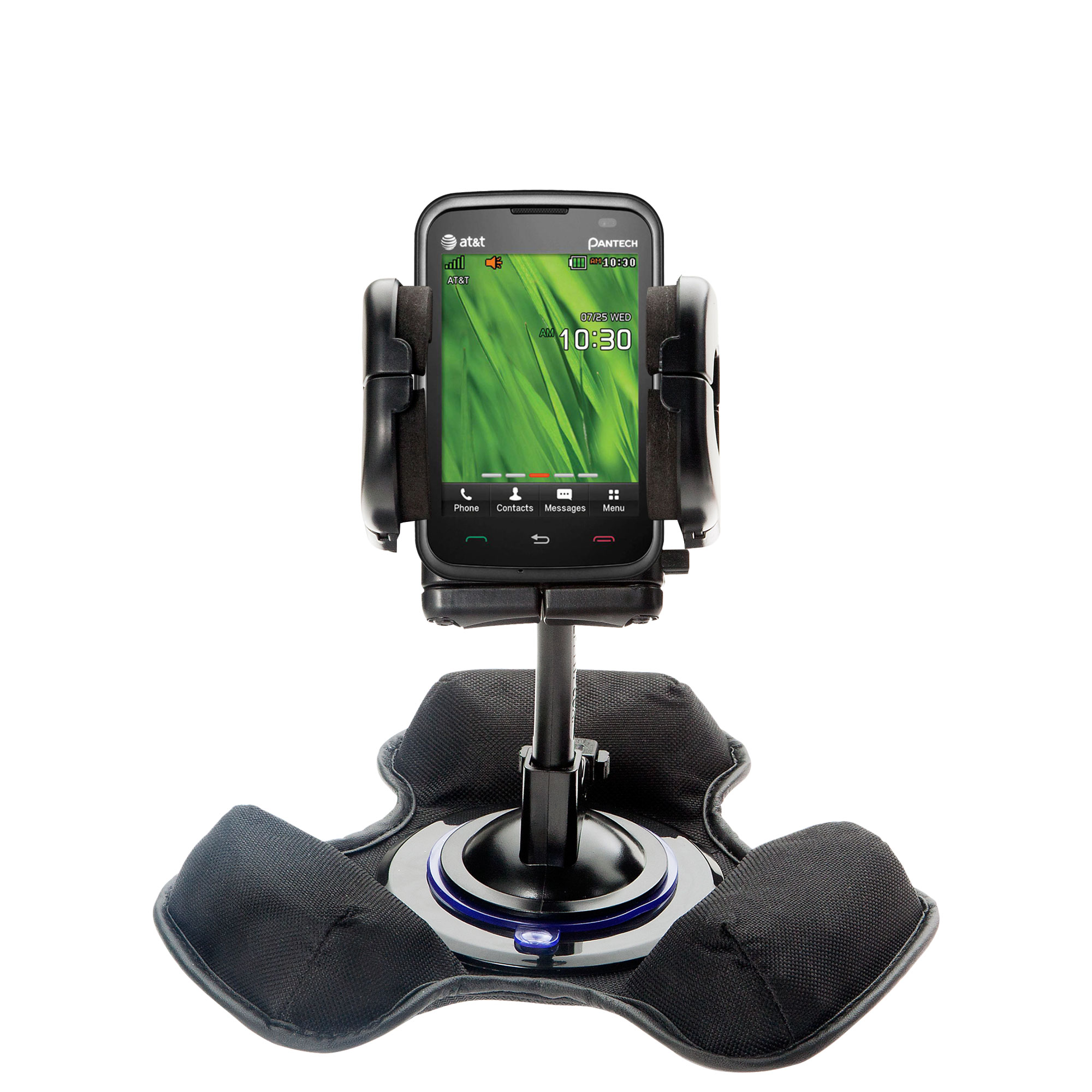 Dash and Windshield Holder compatible with the Pantech Renue