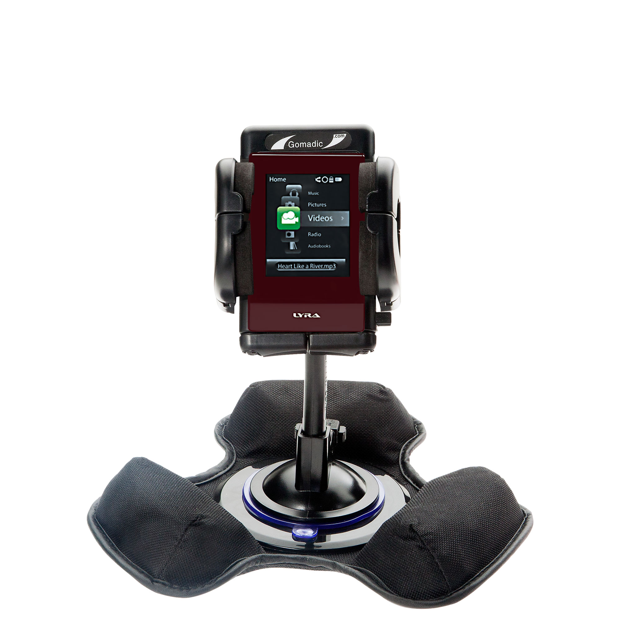 Dash and Windshield Holder compatible with the RCA SL5016 LYRA Slider Media Player