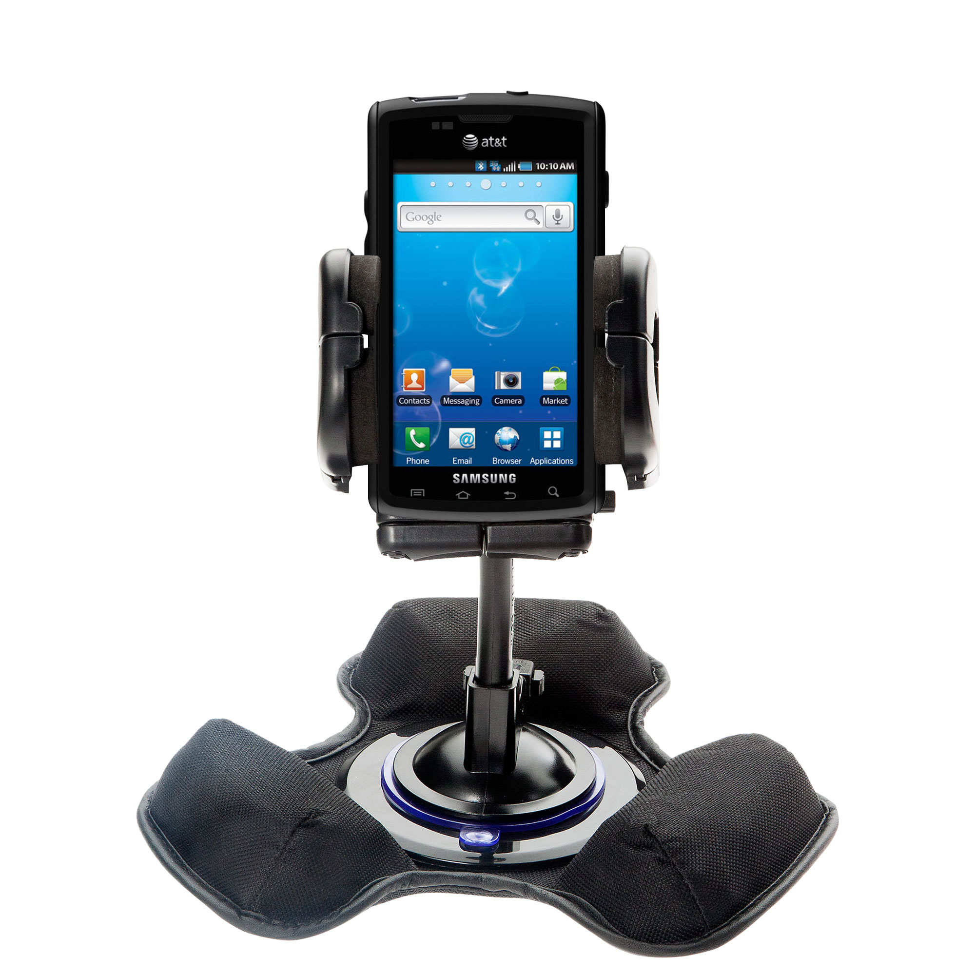Dash and Windshield Holder compatible with the Samsung Captivate
