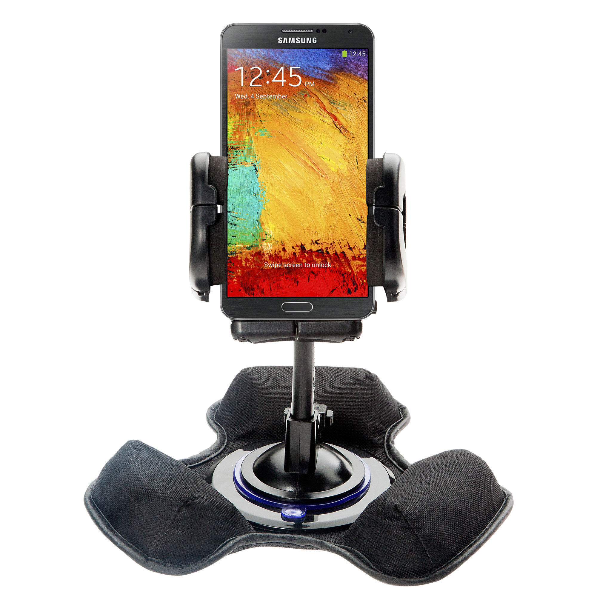 Dash and Windshield Holder compatible with the Samsung Galaxy Note 3 / Note III