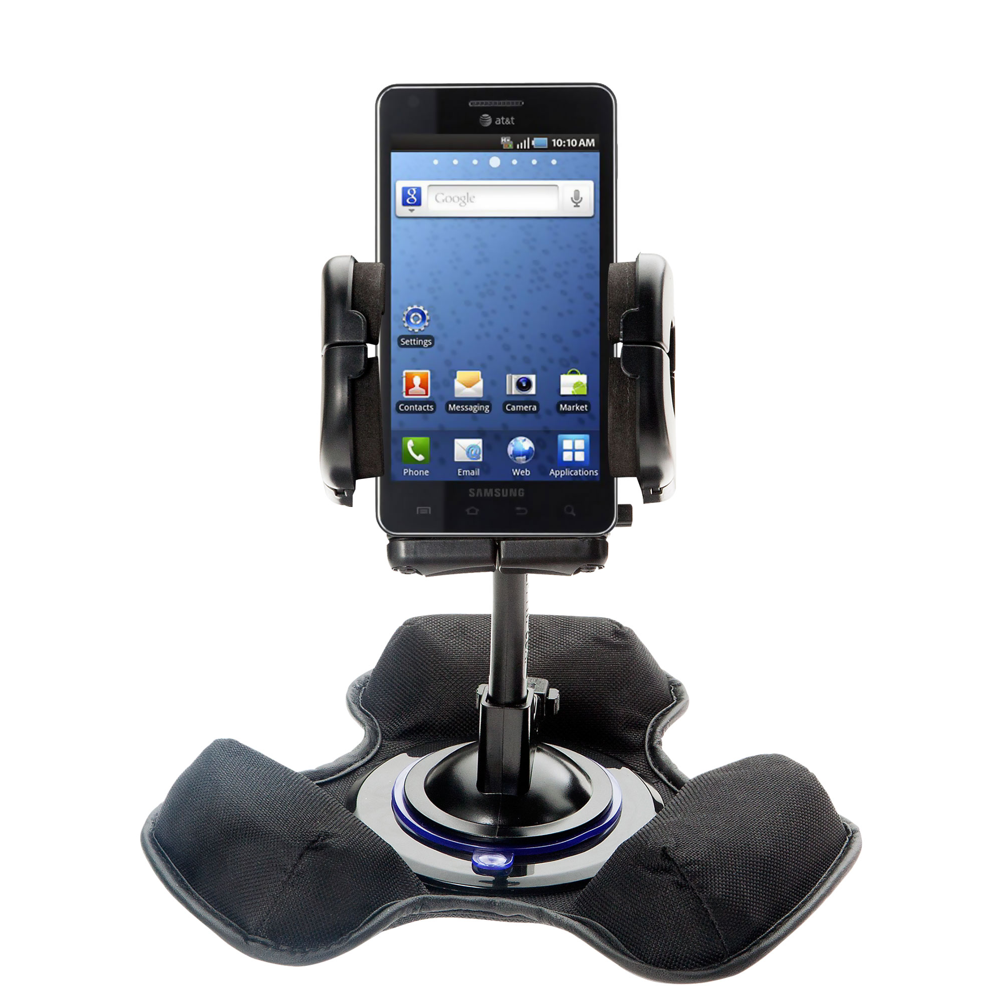Dash and Windshield Holder compatible with the Samsung Infuse 4G