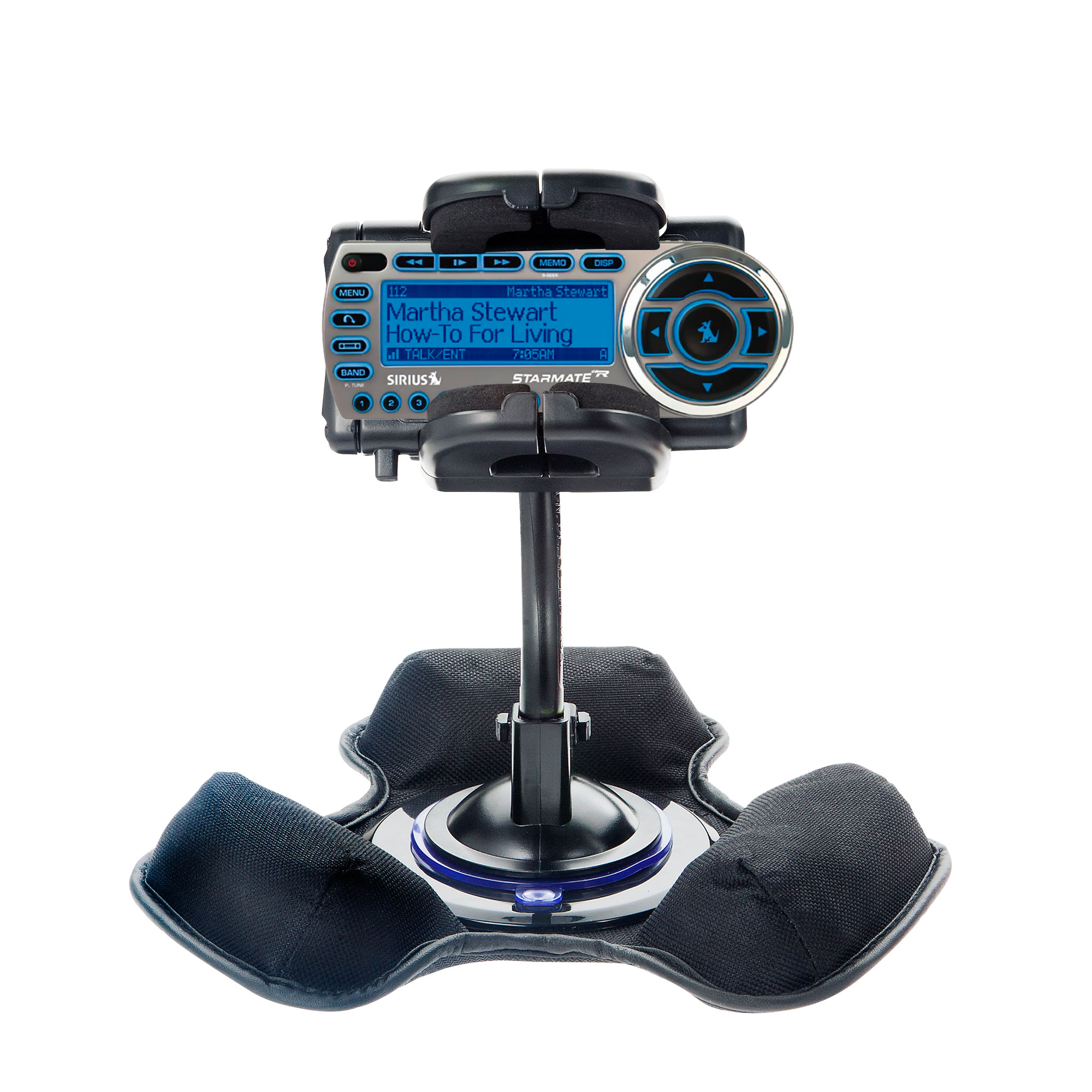 Dash and Windshield Holder compatible with the Sirius StarMate ST2