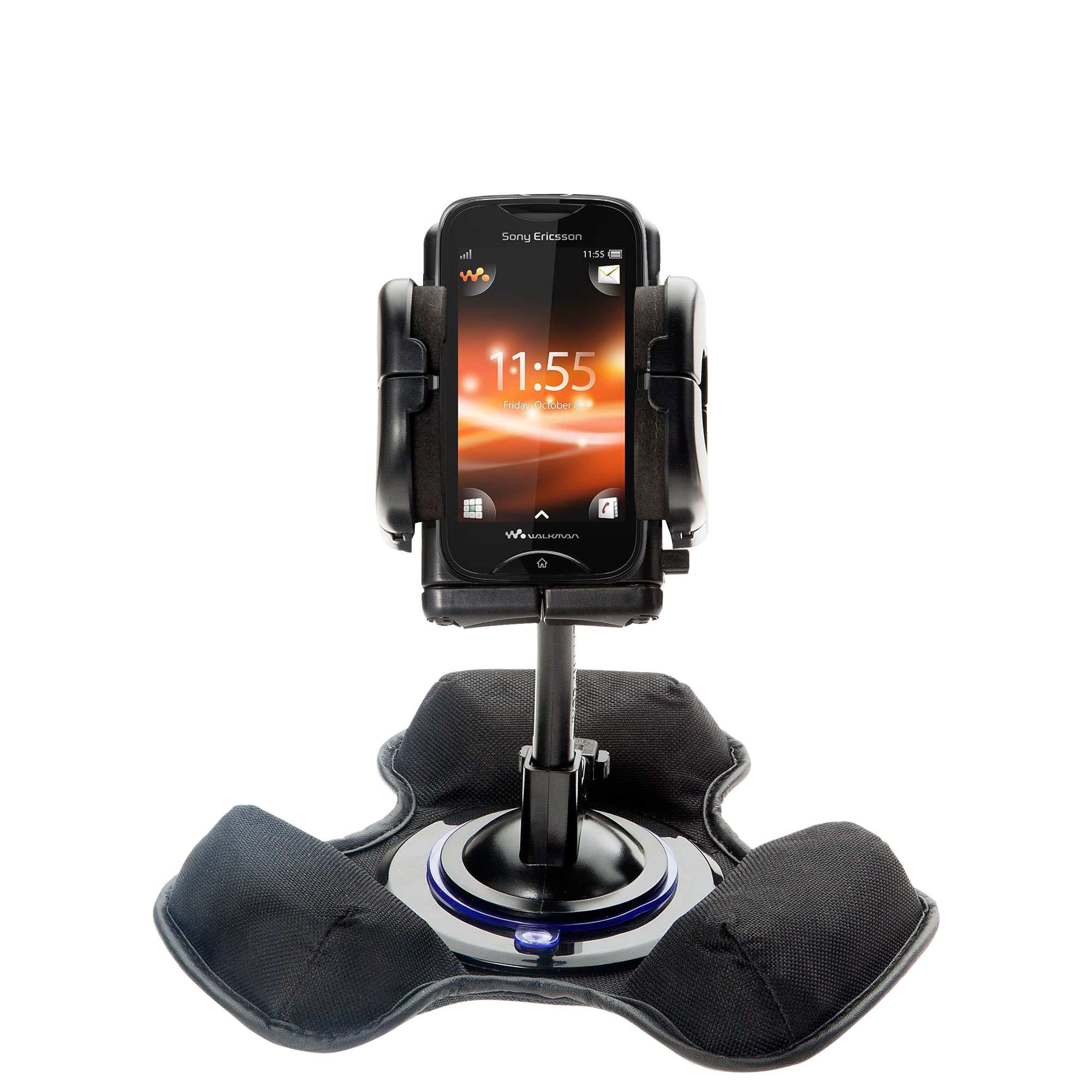 Dash and Windshield Holder compatible with the Sony Ericsson LT15i