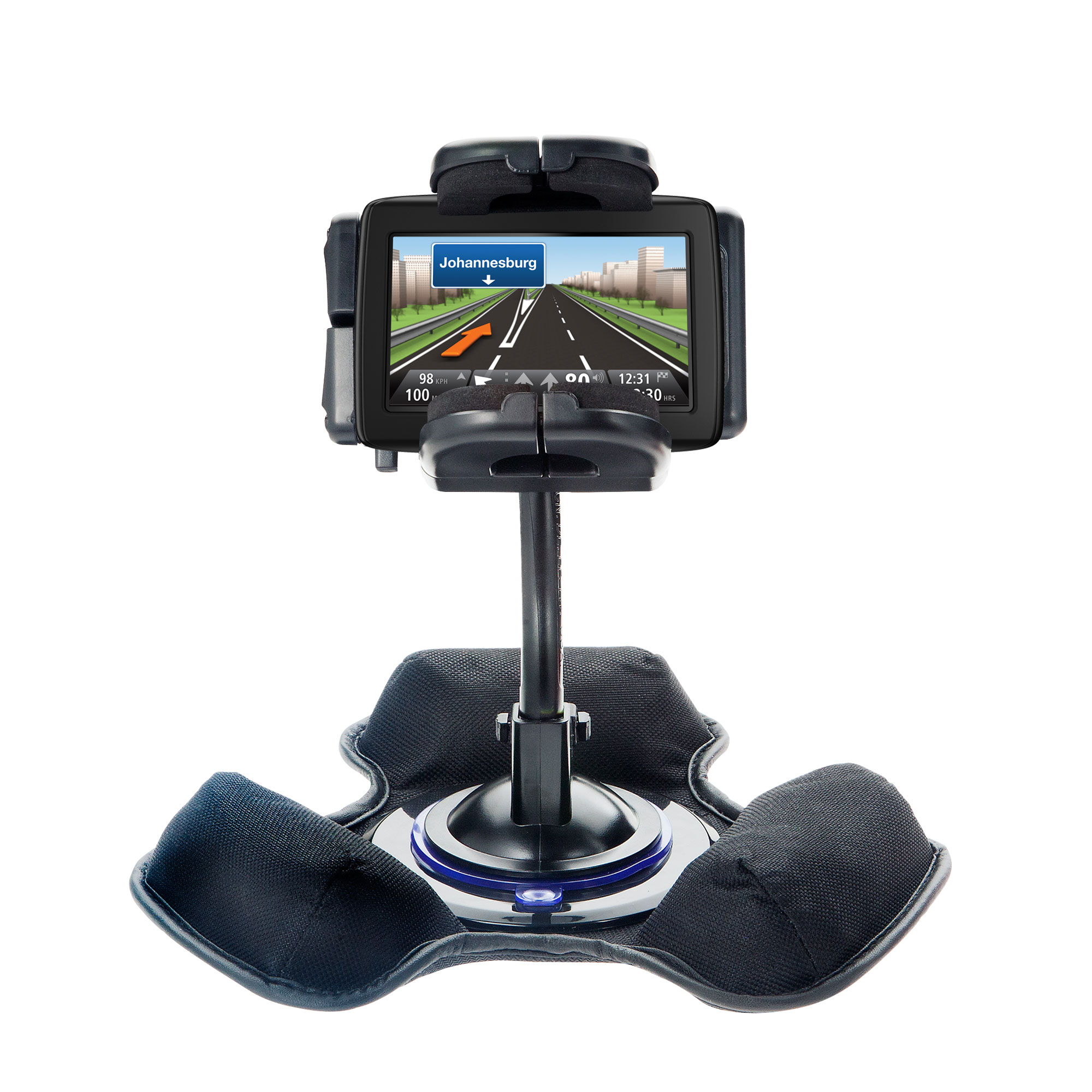 Dash and Windshield Holder compatible with the TomTom VIA 1500
