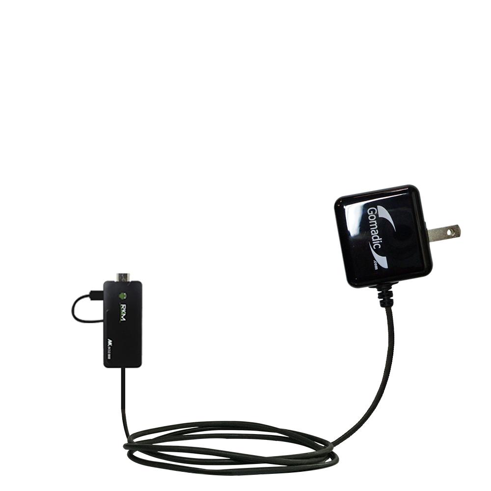 Wall Charger compatible with the Android Rikomagic MK802 II III IIIs Mini PC