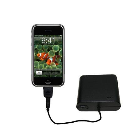 AA Battery Pack Charger compatible with the Apple iPhone