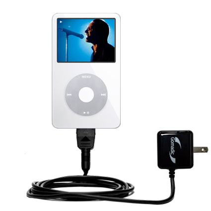 Wall Charger compatible with the Apple iPod 5G Video (60GB)