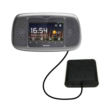 AA Battery Pack Charger compatible with the Archos 35 Home Connect
