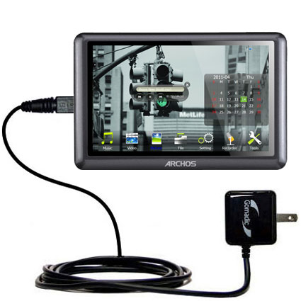 Wall Charger compatible with the Archos 50b Vision