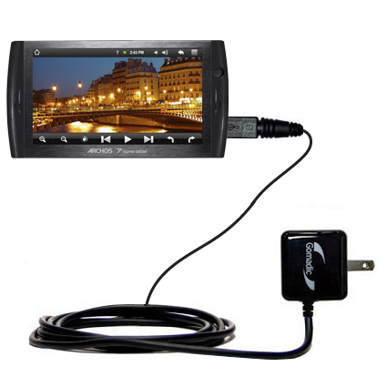 Wall Charger compatible with the Archos 7 Home Tablet with Android