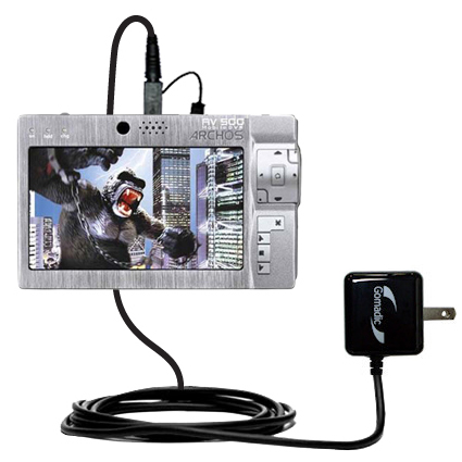 Wall Charger compatible with the Archos AV500 Series