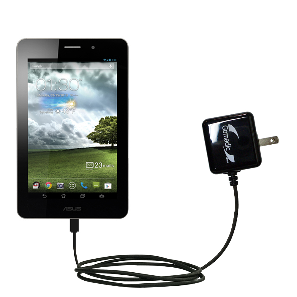 Wall Charger compatible with the Asus MeMo Pad ME171V