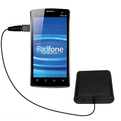 AA Battery Pack Charger compatible with the Asus PadFone
