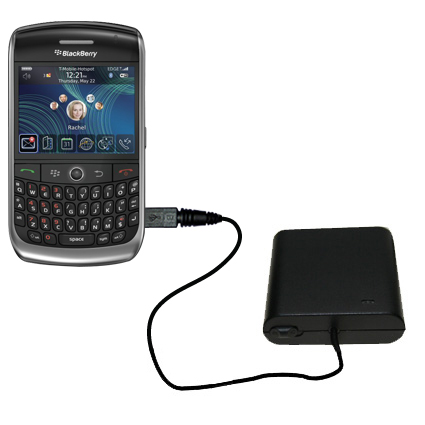 AA Battery Pack Charger compatible with the Blackberry 8900