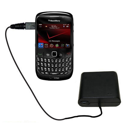 AA Battery Pack Charger compatible with the Blackberry Bold 9650