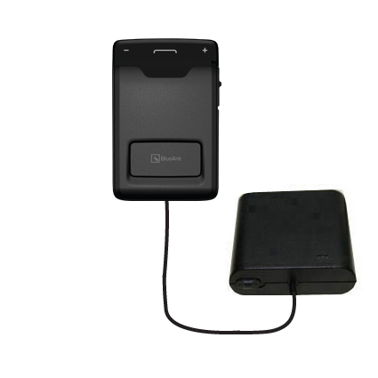 AA Battery Pack Charger compatible with the BlueAnt Sense Speakerphone