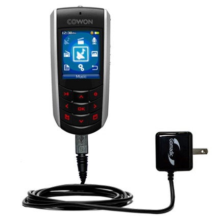 Wall Charger compatible with the Cowon iAudio F2