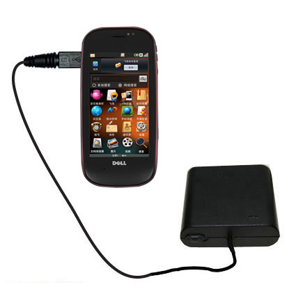 AA Battery Pack Charger compatible with the Dell Mini 3 3i 3ix
