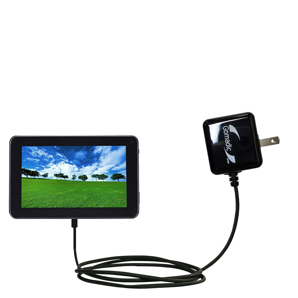 Wall Charger compatible with the Double Power D7020 D7015 7 inch tablet