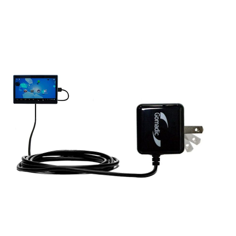 Wall Charger compatible with the Double Power DOPO Tablet TD-1010