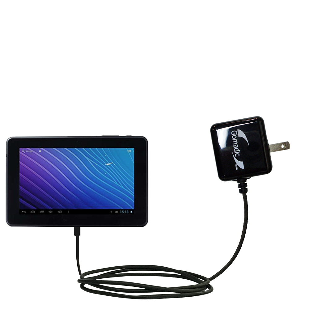 Wall Charger compatible with the Double Power M7088 7 inch tablet