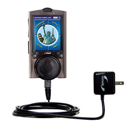 Wall Charger compatible with the ECTACO iTRAVL Series