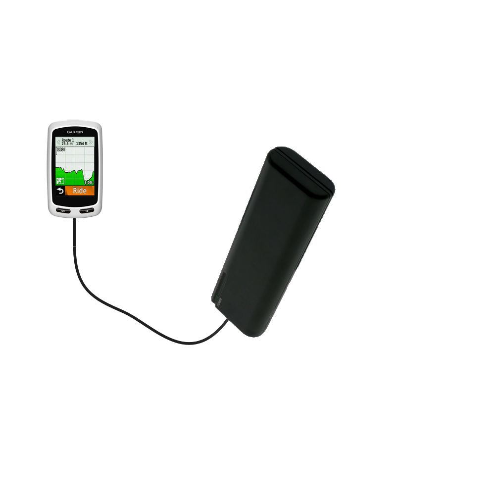 AA Battery Pack Charger compatible with the Garmin Edge 1000