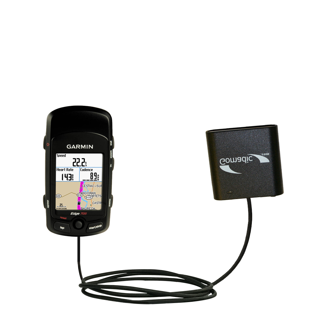 AA Battery Pack Charger compatible with the Garmin Edge 605