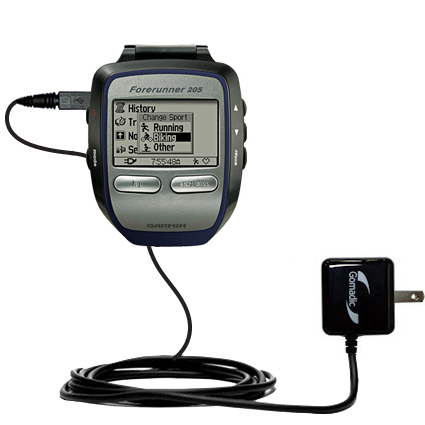 Wall Charger compatible with the Garmin Forerunner 205