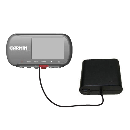 AA Battery Pack Charger compatible with the Garmin Forerunner 301