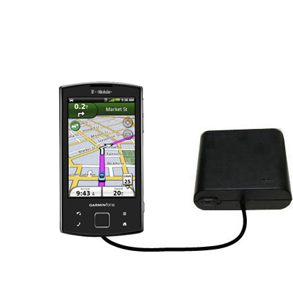 AA Battery Pack Charger compatible with the Garmin Garminfone