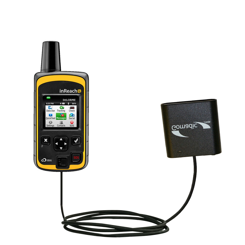 AA Battery Pack Charger compatible with the Garmin inReach Explorer+