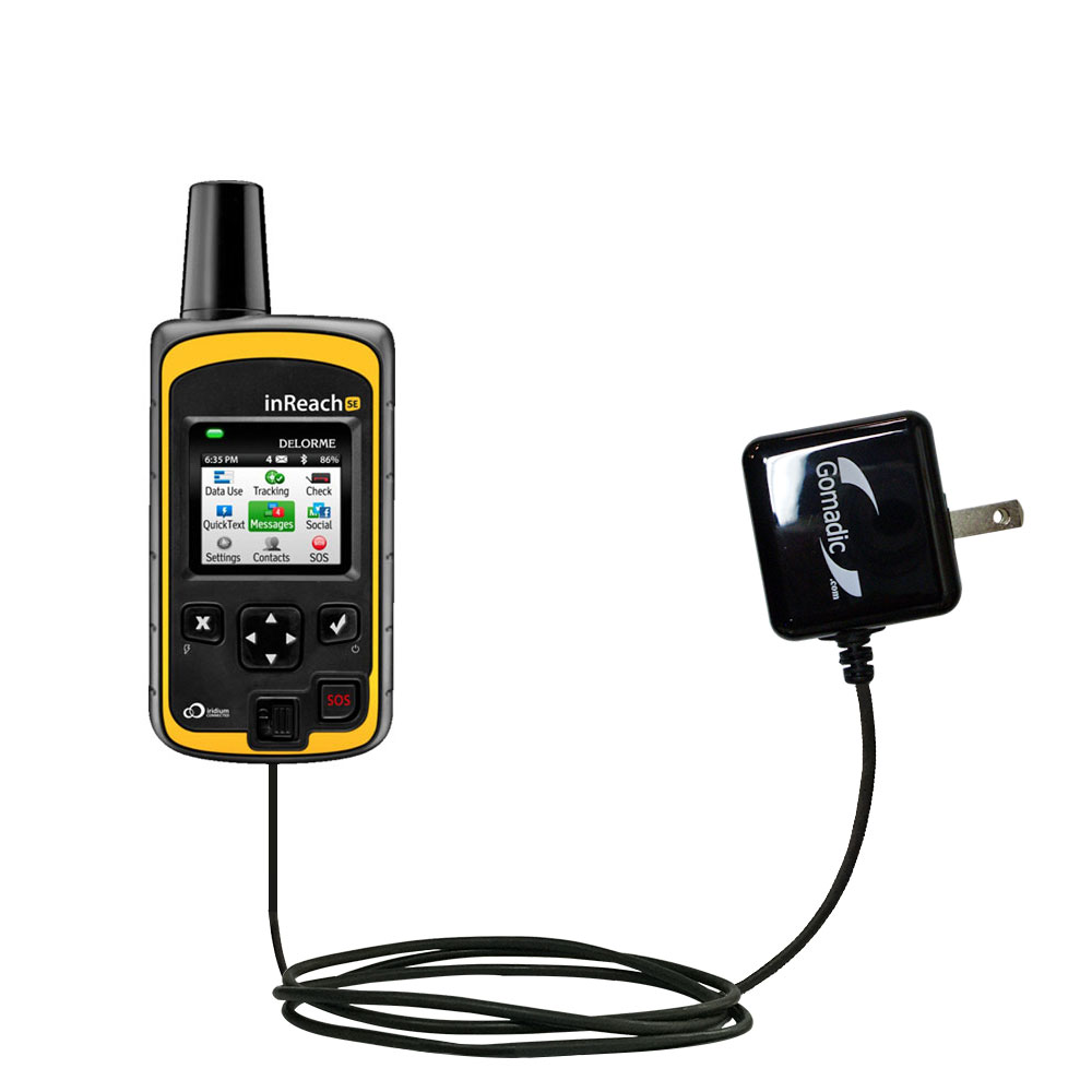 Wall Charger compatible with the Garmin inReach Explorer+