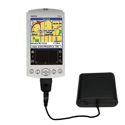 AA Battery Pack Charger compatible with the Garmin iQue 3600