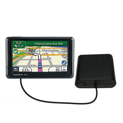 AA Battery Pack Charger compatible with the Garmin Nuvi 1370Tpro