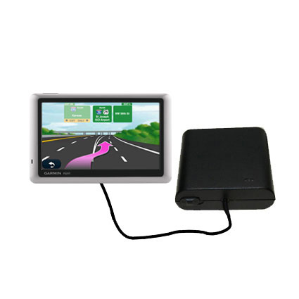 AA Battery Pack Charger compatible with the Garmin Nuvi 1450