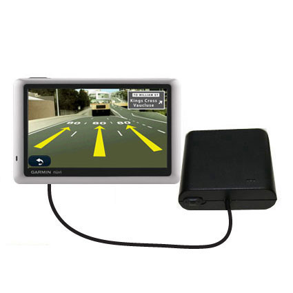 AA Battery Pack Charger compatible with the Garmin Nuvi 1450T