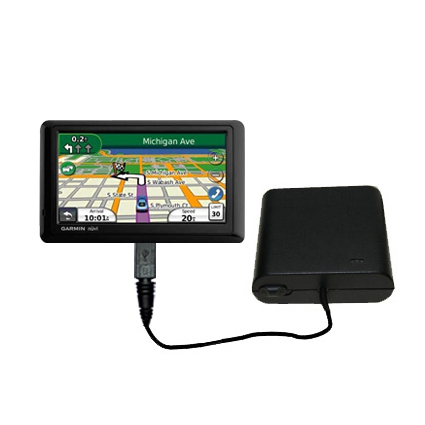 AA Battery Pack Charger compatible with the Garmin Nuvi 1490T