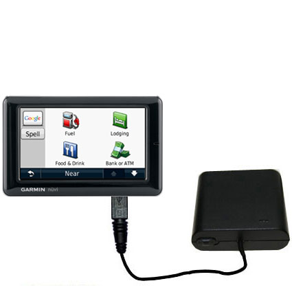 AA Battery Pack Charger compatible with the Garmin Nuvi 1690 1695