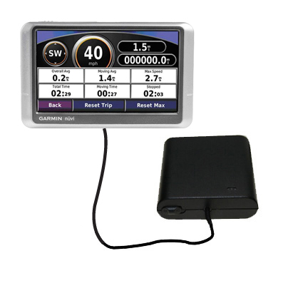 AA Battery Pack Charger compatible with the Garmin Nuvi 200W